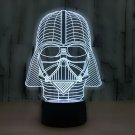 Darth Vader 3D LED Light Lamp Tabletop Decor 7 Colors -Star Wars ON SALE