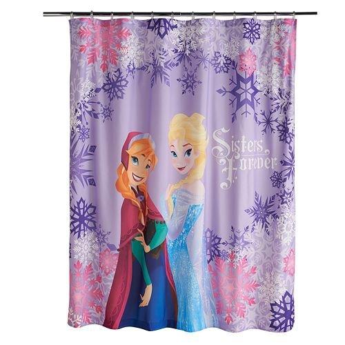 Disney's Frozen Anna Elsa Shower Curtain SALE LIMITED QTY