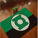 Green Lantern Accent Bedroom Carpet, Bath or Door Mat -NEW