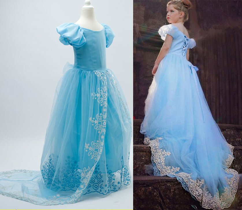 Cinderella Princess Character Dress Child 3t 4t 5 6 7: Cinderella Princess Ball Gown Dress CHILD 3T, 4T, 5, 6, 7