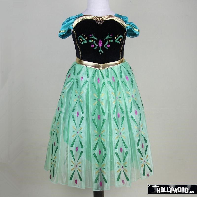 Elsa Anna Frozen Princess Character Dress Up Design 2 CHILD 3T, 4T,5, 7, 9 SALE LIMITED TIME