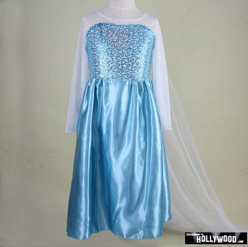 Cinderella Princess Character Dress Child 3t 4t 5 6 7: Elsa Anna Frozen Princess Character Dress Up Design 3
