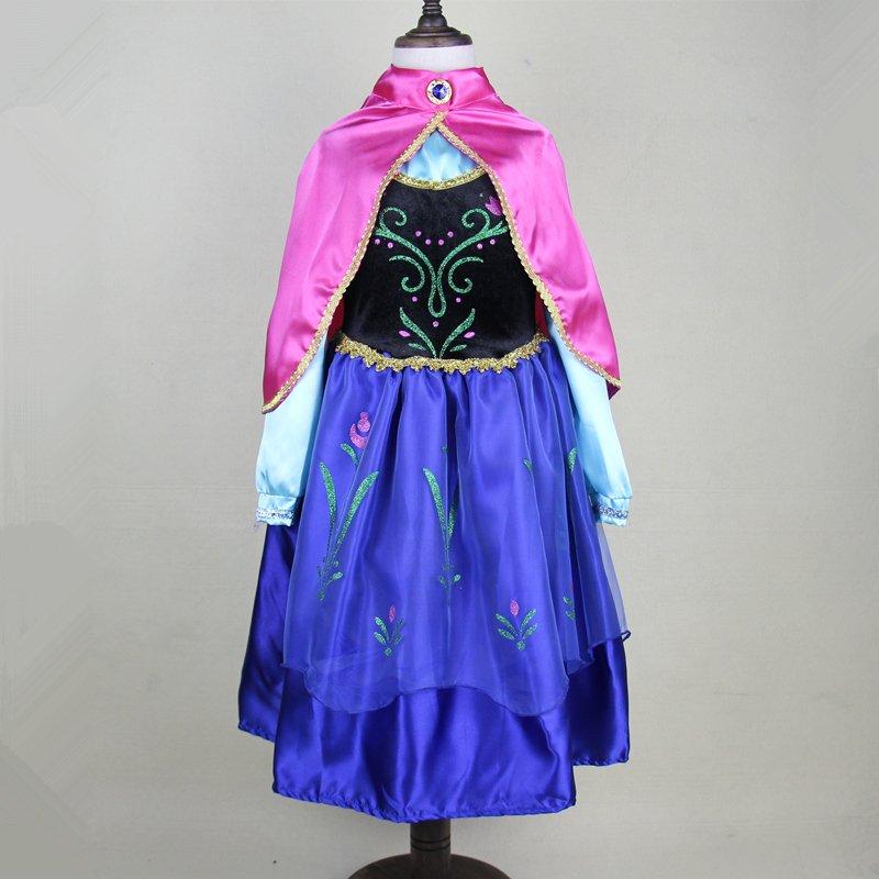 Elsa Anna Frozen Princess Character Dress Up Design 5 CHILD 3T, 4T,5, 7, 9 SALE LIMITED TIME