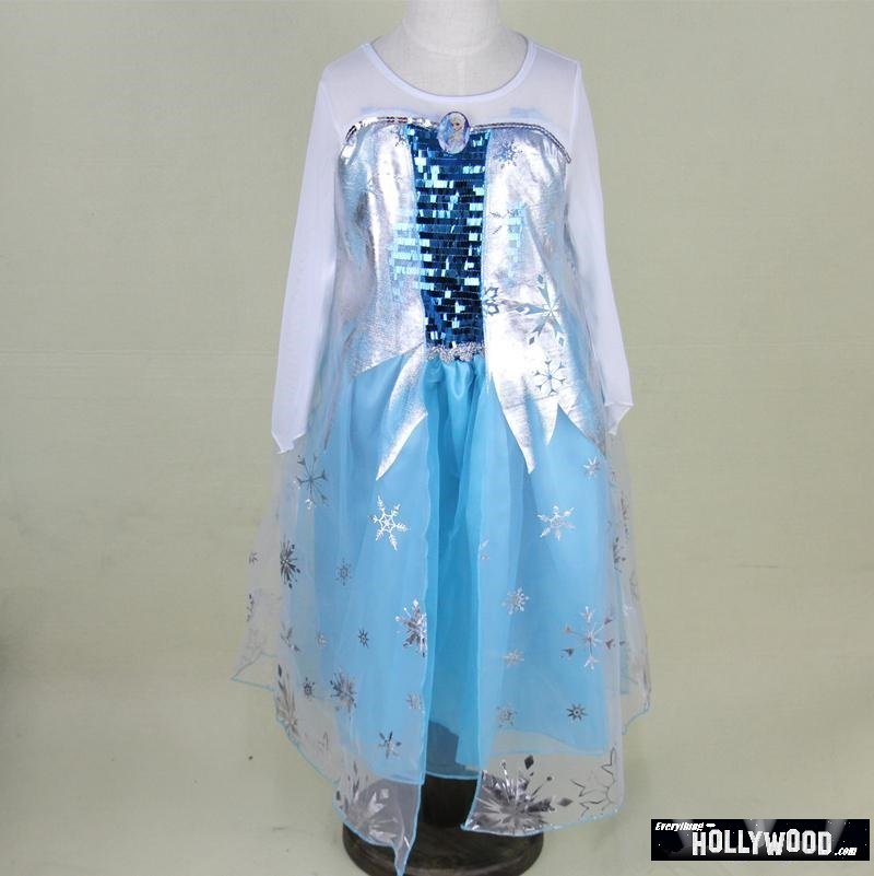 Cinderella Princess Character Dress Child 3t 4t 5 6 7: Elsa Frozen Princess Character Dress Up Design 6 CHILD 3T