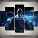 Batman Movie 5pc Wall Decor Framed  Oil Painting DC Comics Superhero