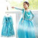 Elsa Frozen Child Costume Dress Girls 3T THRU 8 -LOW BLOWOUT PRICE