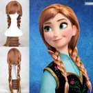Anna Frozen Character Wig Child Size Costume Accessory