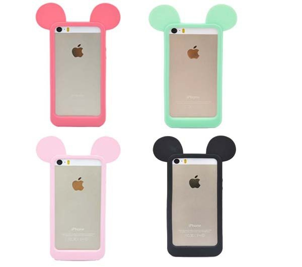 Mickey Ears iPhone Silicone Case Covers for iphone 5, 5S, 5G   SALE