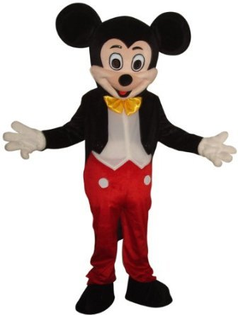 NEW MICKEY MOUSE MASCOT COSTUME ADULT HALLOWEEN
