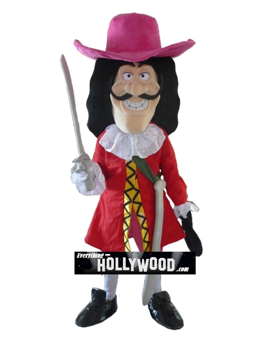 Captain Hook Mascot Costume Character Disney Peter Pan-SALE LIMITED TIME