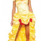 Beauty and the Beast Belle Princess Sexy Women Adult Halloween Costume Dress