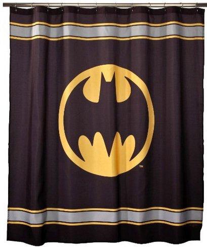 Batman Logo Design Shower Curtain 2 Size options