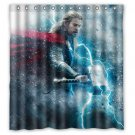 Thor Chris Hemsworth Celebrity Design Shower Curtain 2 Size options