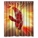 The Flash Marvel DC Superhero Hollywood Design Shower Curtain 2 Size options