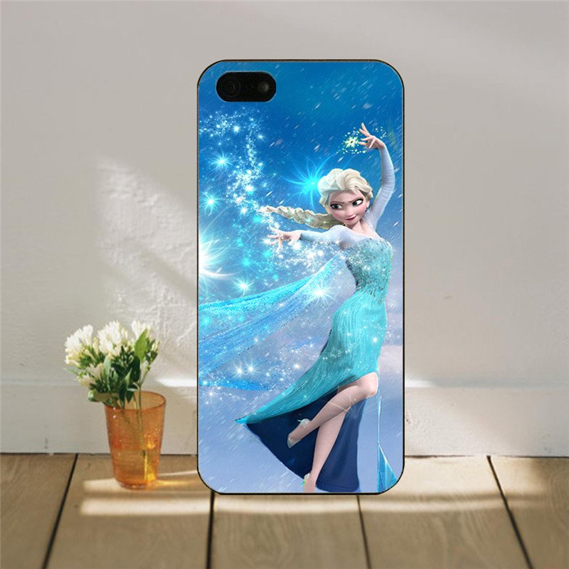 Frozen Elsa Snow Princess iphone Cover for iphone 5 & 5s SALE PRICE