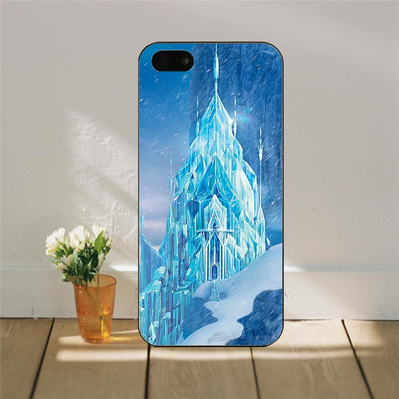 Frozen Snow Castle iphone Cover for iphone 5 & 5s SALE PRICE