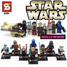 Star Wars 8pc Mini Figures Building Blocks Minifigures Block Build Set 3