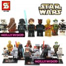Star Wars 8pc Mini Figures Building Blocks Minifigures Block Build Set 4