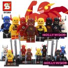 The Flash DC Marvel 8pc Mini Figures Building Blocks Minifigures Block Build Set