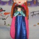 Anna Mascot Costume Disney Frozen Character