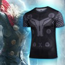 Thor Marvel Compressed Fit SuperHero T Shirts