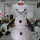 Olaf Mascot Costume Disney Frozen Character SALE-FREE SHIPPING
