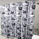 """Marilyn Monrore White Hollywood Icon Design Shower Curtain 72""""x72"""" SALE"""