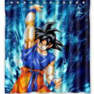 Dragon Ball Z Shower Curtain Anime Cartoon Hollywood Design