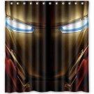 Ironman  Helmet Shower Curtain Anime Avengers Marvel Hollywood Design 2