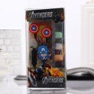Captain America Avengers Earphones Headphones Set Marvel Superhero 3.5MM Epacket