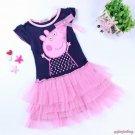 Peppa Pig Tutu Dress Kids Girls 24M 2T 3T 4T 5T