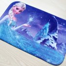 Frozen Elsa Snow Princess Bath Mat Accent Rug for Bath Bedroom Living Room