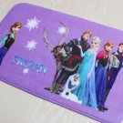 Frozen Group Anna ElsaSnow Princess Bath Mat Accent Rug for Bath Bedroom Living Room