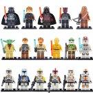 Star Wars 17pc Mini Figures Building Blocks Minifigures Block Build on SUPER SALE