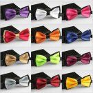 Solid Color Butterfly Bowties Multi Color Selection - 12 Colors
