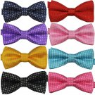 Polka Dot Kids Butterfly Bowties Multi Color Selection - 8 Colors