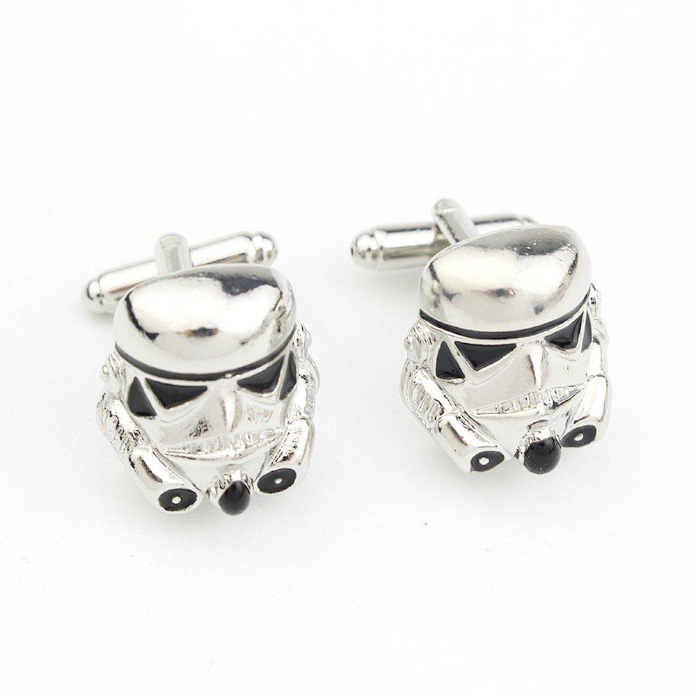 Storm Trooper Enamel Cufflinks Star Wars Pair / Set
