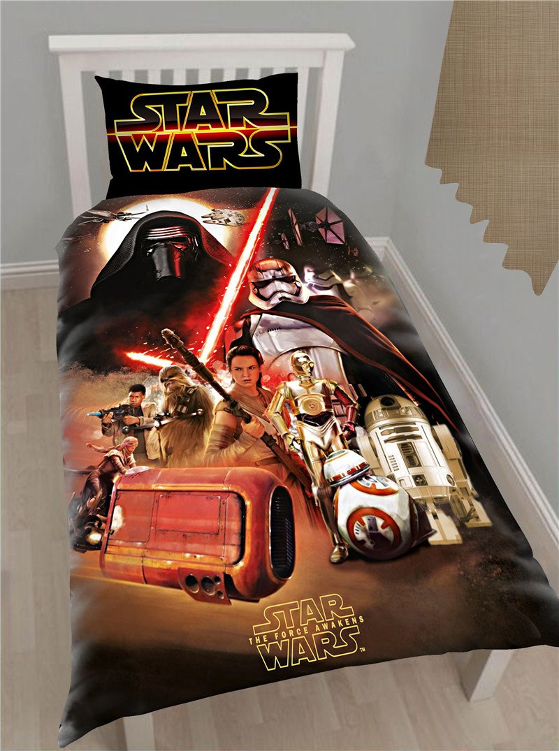 Star Wars Queen Size Bedding Set