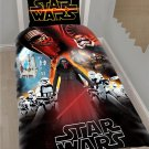 Star Wars Force Awakens Bedding Design Cover Set 3 Twin or Full