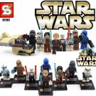 Star Wars 8pc Mini Figures Building Blocks Minifigures Block Build Set 3 Minifigures