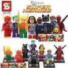 Marvel Superheros 8pc Mini Figures Building Blocks Minifigures Block Build Set 2 STANDARD PLUS SHIPPING