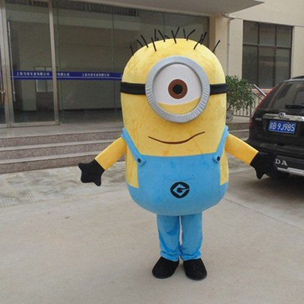 Minion 4 Adult Character Mascot Costume Despicable me
