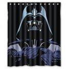 Darth Vader Star Wars Design Shower Curtain 2 Size options SM