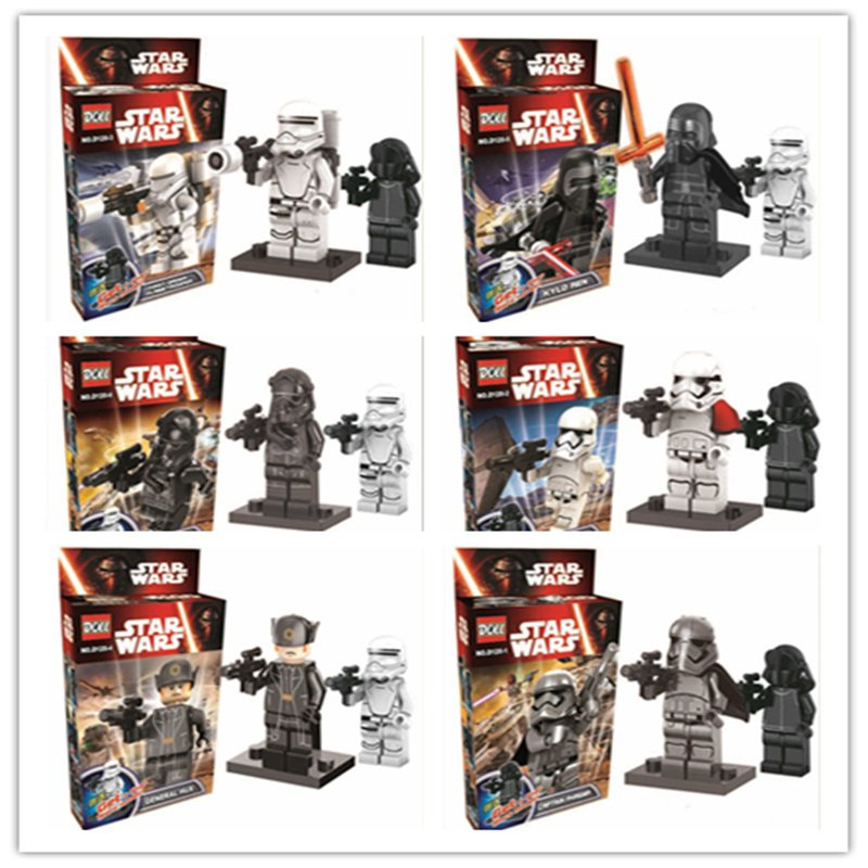 Star Wars The Force Awakens 12pc Mini Figures Building Blocks Minifigures Block Captain Kylo Ren 2016 sale