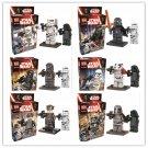 Star Wars The Force Awakens 12pc Mini Figures Building Blocks Minifigures Block Captain Kylo Ren 2016 sale