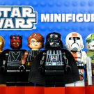 Star Wars 8pc CLASSIC Mini Figures Building Blocks Minifigures Block Build Set 4