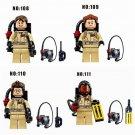 GHOSTBUSTERS 4pc Mini Figures Building Blocks Minifigures Block Build Set 2 DAY SALE