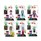 MONSTER HIGH 6pc Mini Figures Building Blocks Minifigures Block Build Set 2 DAY SALE ENDS SOON