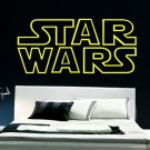 "Star Wars Logo Lettering Wall Decal 32""x 16"" Display Signage"