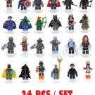 Lego Minifigures 24PCS Set Specialty Hard to find Collectors Lego Mini Figures Legos Block Build NEW